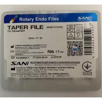 Файлы для ретритмента SANI 25 mm VT/25 (отдельные размеры)