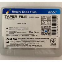 Файлы для ретритмента SANI 25 mm VT/20 (отдельные размеры)