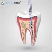 Профайлы CICADA Niti Endodontic files Gold Ассорти, 25 мм, 6 шт./упак.