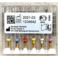 Протейпери машинні уп.6шт, (Protaper), Dentsply Maillefer F1, F2, F3, S1, S2, SX. Оригінал, висока якість!