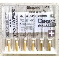 Протейпери машинні уп.6шт, 25мм S2 (Protaper), Dentsply Maillefer S2. Оригінал, висока якість!