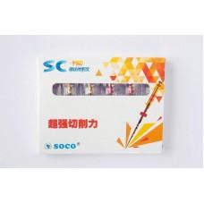 Файлы SOCO SC PRO 21 mm. 04/25, 6шт.