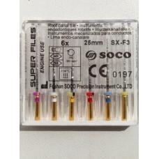 Профайлы SOCO SCF-Niti Rotary Super Files